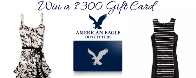Enter to Win a $300 American Eagle Gift Card for Back To School