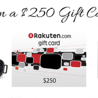 Enter to Win a $250 Rakuten.com Gift Card