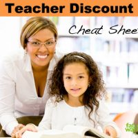 Teacher Discounts Cheat Sheet