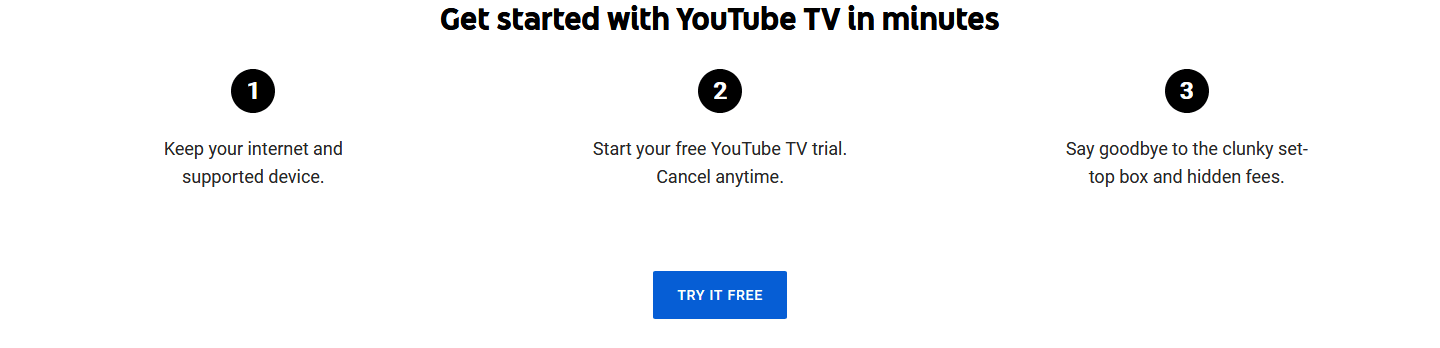 youtube tv promo code free month